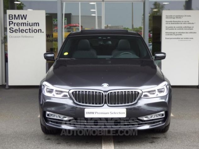 BMW Série 6 Gran Coupe Serie Turismo 630d xDrive 265ch Luxury Sophistograu Metal Occasion - 6