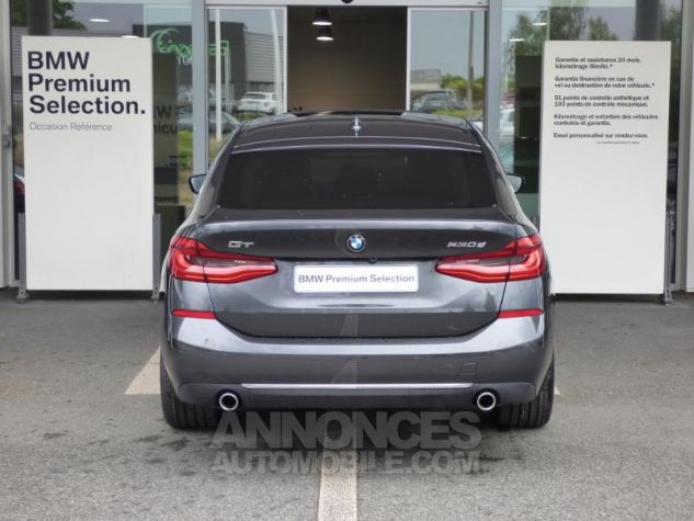 BMW Série 6 Gran Coupe Serie Turismo 630d xDrive 265ch Luxury Sophistograu Metal Occasion - 7