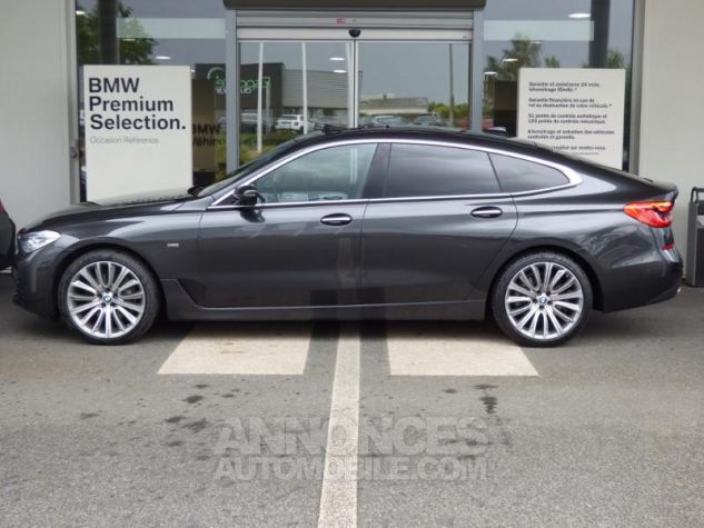 BMW Série 6 Gran Coupe Serie Turismo 630d xDrive 265ch Luxury Sophistograu Metal Occasion - 8