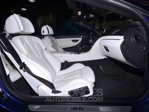 BMW Série 6 M6 (F12) CABRIOLET 560 DKG7 BLEU METAL  Occasion - 9