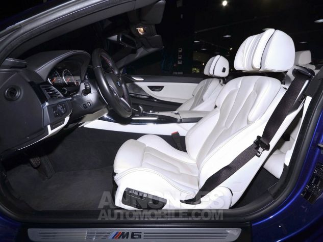 BMW Série 6 M6 (F12) CABRIOLET 560 DKG7 BLEU METAL  Occasion - 10