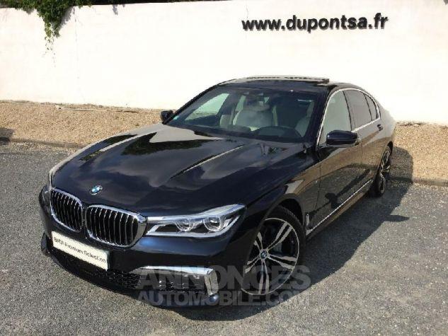 BMW Série 7 730dA xDrive 265ch M Sport Azuritschwarz  metallise Occasion - 0