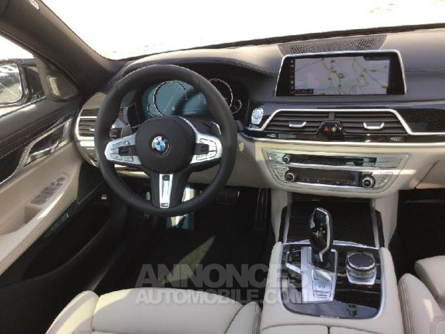 BMW Série 7 730dA xDrive 265ch M Sport Azuritschwarz  metallise Occasion - 4