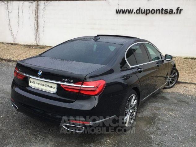 BMW Série 7 740dA xDrive 320ch Exclusive Saphirschwarz metallise Occasion - 1