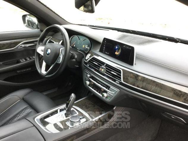BMW Série 7 740dA xDrive 320ch Exclusive Saphirschwarz metallise Occasion - 2