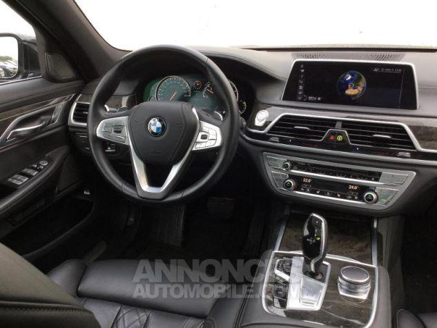 BMW Série 7 740dA xDrive 320ch Exclusive Saphirschwarz metallise Occasion - 4