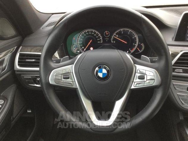 BMW Série 7 740dA xDrive 320ch Exclusive Saphirschwarz metallise Occasion - 5