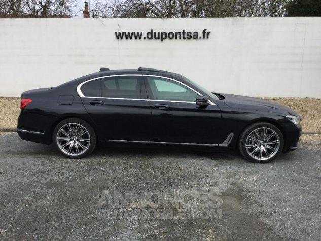 BMW Série 7 740dA xDrive 320ch Exclusive Saphirschwarz metallise Occasion - 12