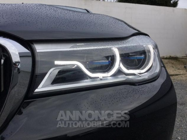BMW Série 7 740dA xDrive 320ch Exclusive Saphirschwarz metallise Occasion - 13