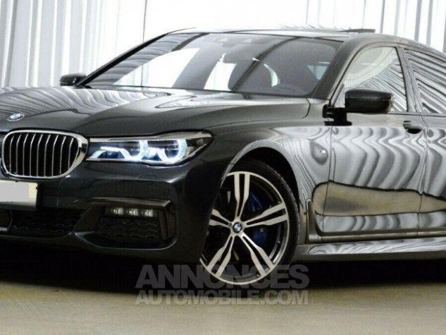 BMW Série 7  (G11) 730D XDRIVE 265 M SPORT BVA8 GRIS SINGAPOUR METAL Occasion - 1