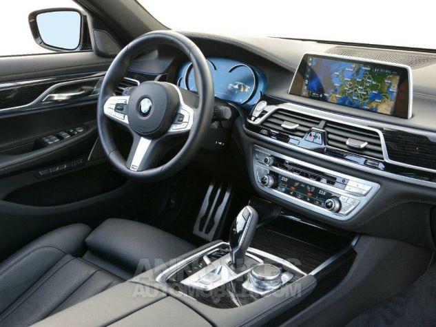 BMW Série 7  (G11) 730D XDRIVE 265 M SPORT BVA8 GRIS SINGAPOUR METAL Occasion - 5