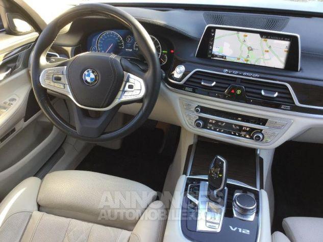 BMW Série 7 M760LiA xDrive 610ch Exclusive GRIS Occasion - 4