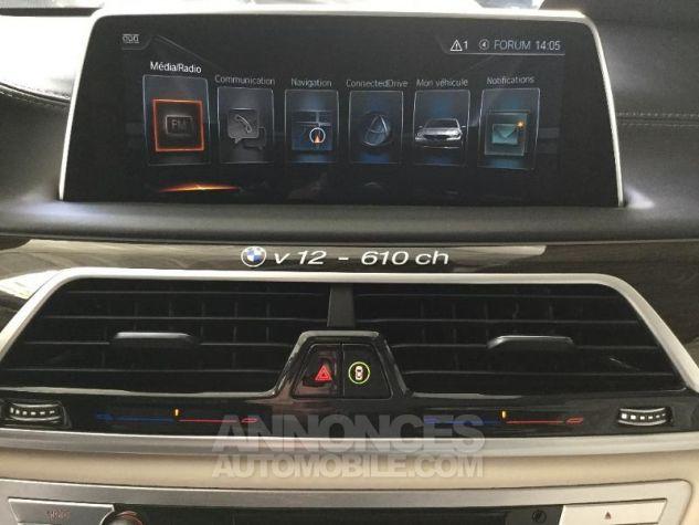 BMW Série 7 M760LiA xDrive 610ch Exclusive GRIS Occasion - 13
