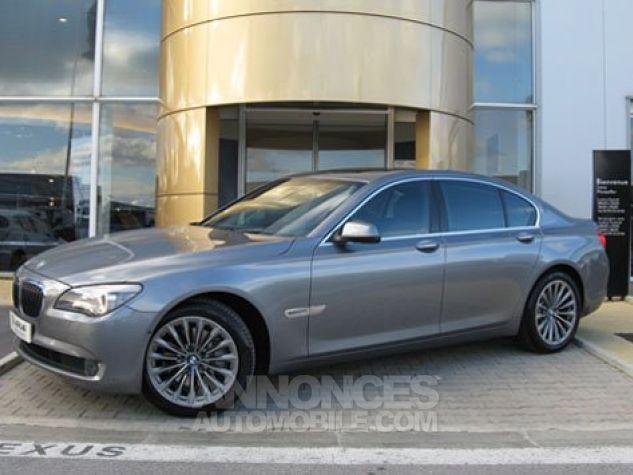BMW Série 7 SERIE 7 730d Exclusive A Gris Foncé Métal Occasion - 0