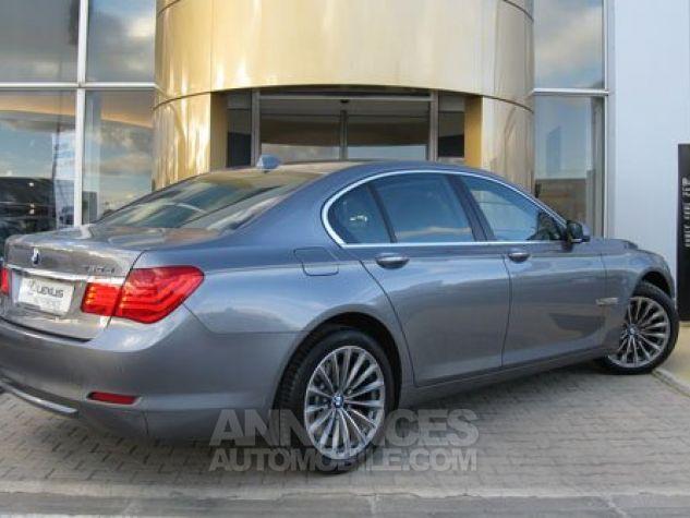 BMW Série 7 SERIE 7 730d Exclusive A Gris Foncé Métal Occasion - 1