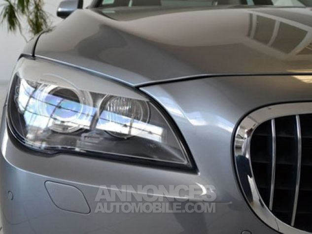 BMW Série 7 SERIE 7 730d Exclusive A Gris Foncé Métal Occasion - 2