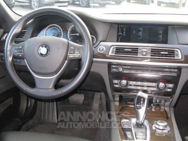 BMW Série 7 SERIE 7 730d Exclusive A Gris Foncé Métal Occasion - 4