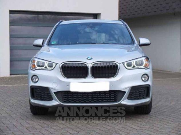 BMW X1 F48 XDRIVE20DA 190CH M SPORT GRIS ARGENTE Occasion - 1