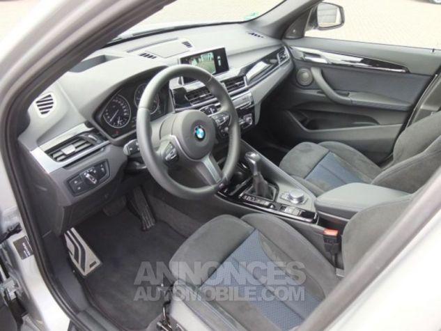 BMW X1 F48 XDRIVE20DA 190CH M SPORT GRIS ARGENTE Occasion - 7