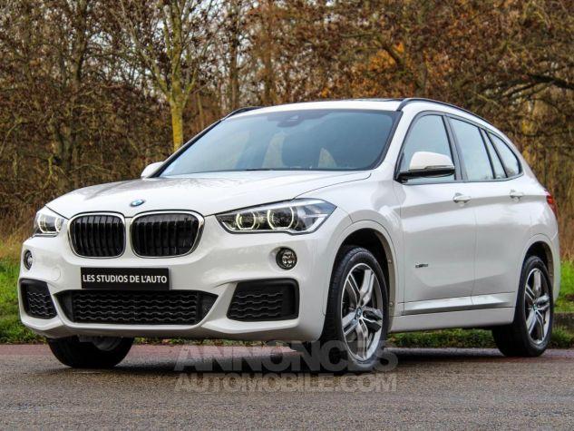 BMW X1 II F48 sDrive18i 136ch M Sport BLANC Occasion - 0