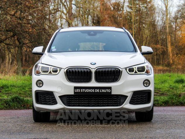 BMW X1 II F48 sDrive18i 136ch M Sport BLANC Occasion - 1