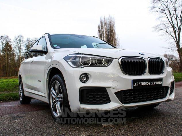 BMW X1 II F48 sDrive18i 136ch M Sport BLANC Occasion - 21