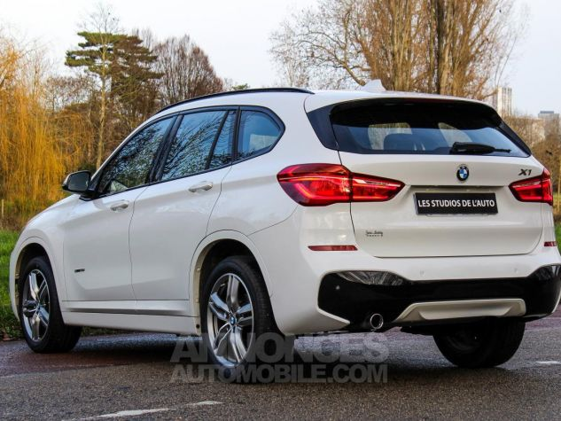 BMW X1 II F48 sDrive18i 136ch M Sport BLANC Occasion - 27