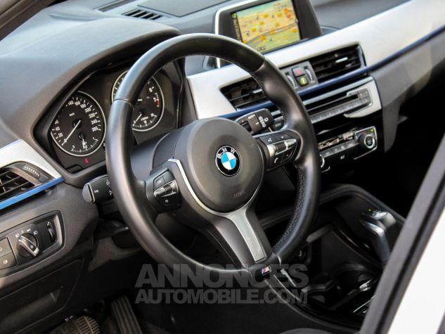 BMW X1 II F48 sDrive18i 136ch M Sport BLANC Occasion - 36