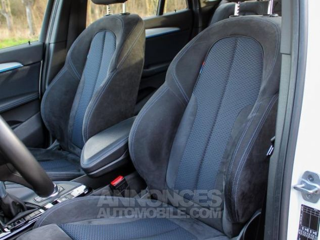 BMW X1 II F48 sDrive18i 136ch M Sport BLANC Occasion - 37