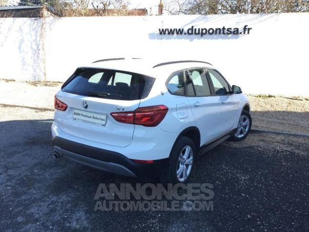 BMW X1 sDrive16d 116ch Lounge BLANC Occasion - 1