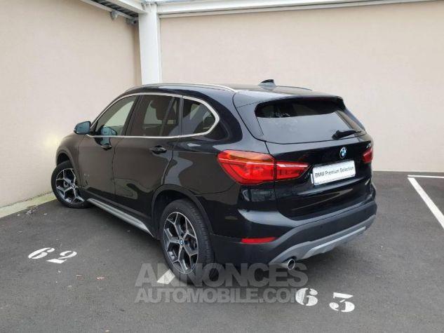 BMW X1 sDrive16d 116ch xLine Euro6c Saphirschwarz Occasion - 1