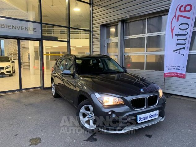 BMW X1 sDrive18d 143ch Lounge Mineralgrau Occasion - 0