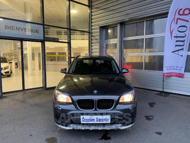 BMW X1 sDrive18d 143ch Lounge Mineralgrau Occasion - 1