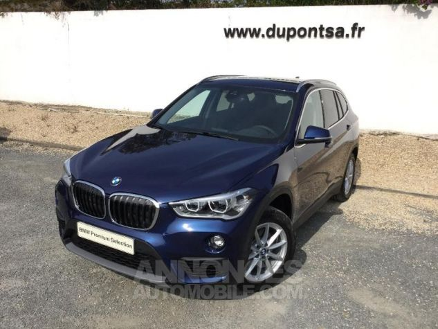 BMW X1 sDrive18d 150ch Business Design Euro6d-T MEDITERRANBLAU Occasion - 0