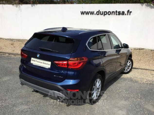 BMW X1 sDrive18d 150ch Business Design Euro6d-T MEDITERRANBLAU Occasion - 1