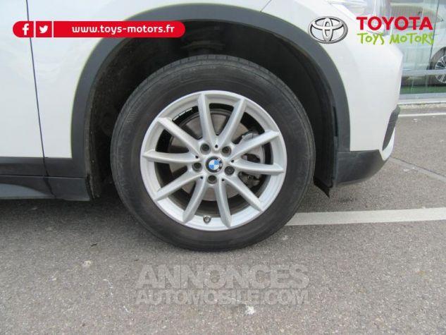 BMW X1 sDrive18d 150ch Lounge BLANC Occasion - 8