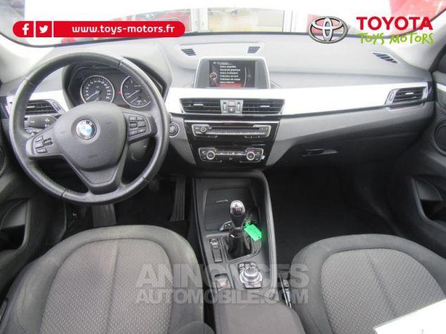 BMW X1 sDrive18d 150ch Lounge BLANC Occasion - 10
