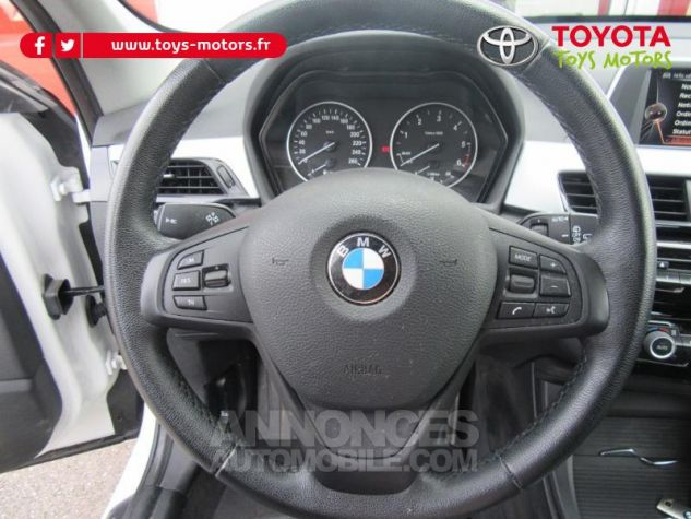 BMW X1 sDrive18d 150ch Lounge BLANC Occasion - 11