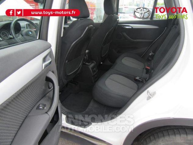 BMW X1 sDrive18d 150ch Lounge BLANC Occasion - 16