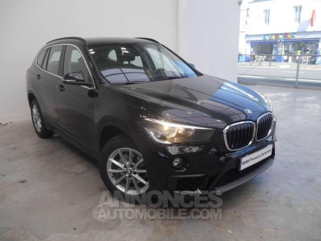 BMW X1 sDrive18dA 150ch Business Saphirschwarz Occasion - 0