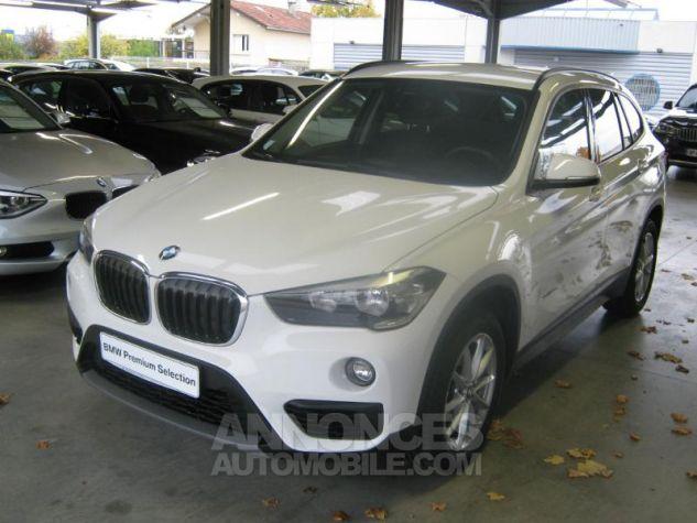 BMW X1 sDrive18dA 150ch Lounge Alpinweiss uni Occasion - 3