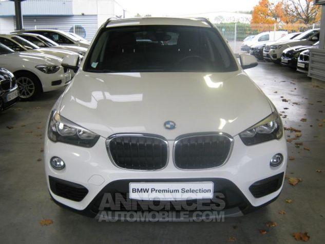BMW X1 sDrive18dA 150ch Lounge Alpinweiss uni Occasion - 4