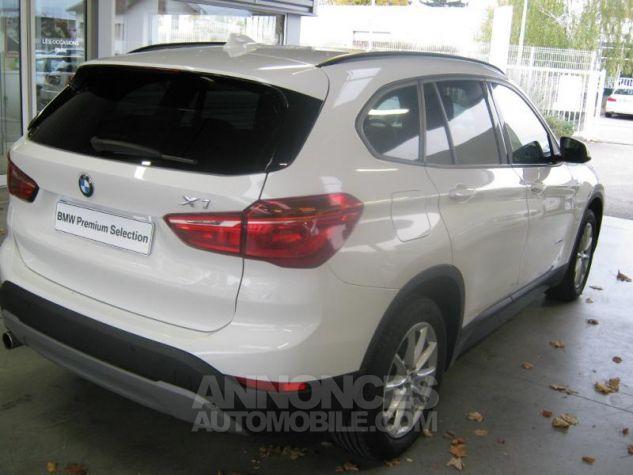 BMW X1 sDrive18dA 150ch Lounge Alpinweiss uni Occasion - 5