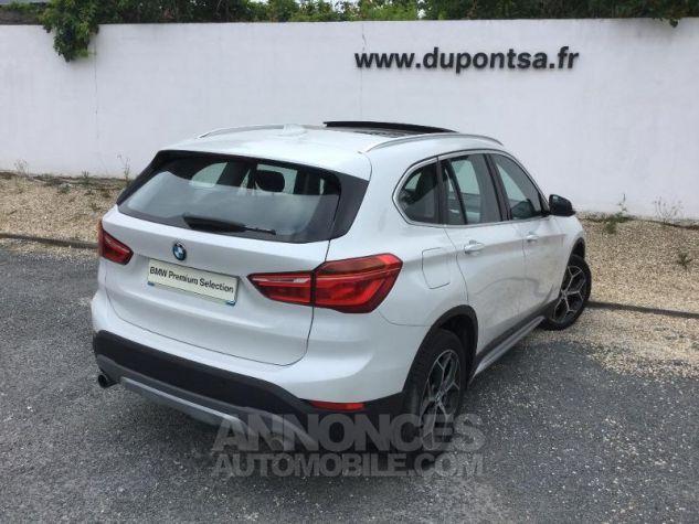 BMW X1 sDrive20dA 190ch xLine BLANC Occasion - 1