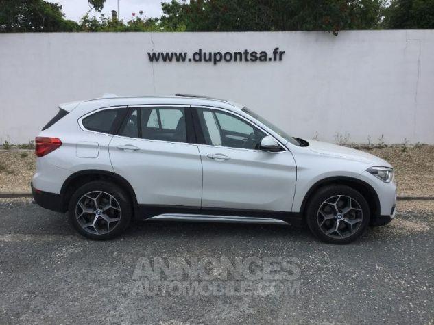 BMW X1 sDrive20dA 190ch xLine BLANC Occasion - 9