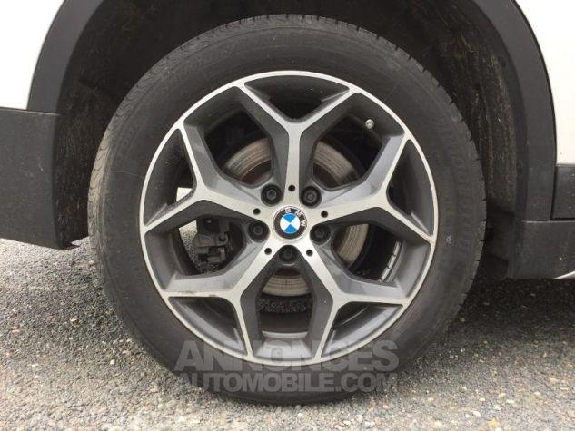 BMW X1 sDrive20dA 190ch xLine BLANC Occasion - 11