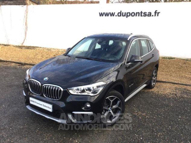 BMW X1 sDrive20dA 190ch xLine Euro6c Saphirschwarz Métal Occasion - 0