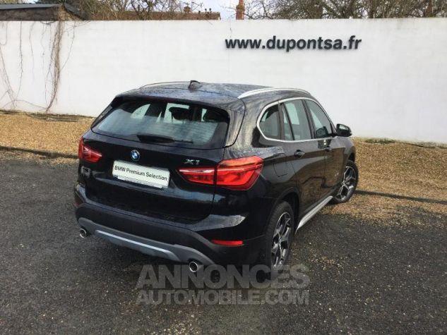 BMW X1 sDrive20dA 190ch xLine Euro6c Saphirschwarz Métal Occasion - 1