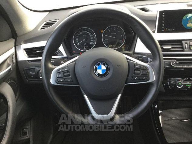 BMW X1 sDrive20dA 190ch xLine Euro6c Saphirschwarz Métal Occasion - 5