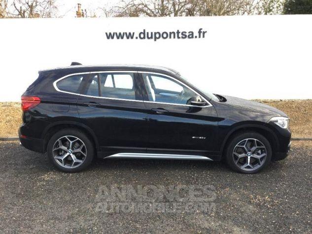 BMW X1 sDrive20dA 190ch xLine Euro6c Saphirschwarz Métal Occasion - 9